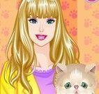 Barbie e Ellie veterinária