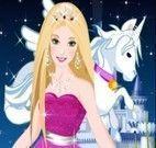Barbie e o seu cavalo pegasus
