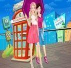 Barbie no dia de Chuva