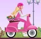 Barbie passeio de moto