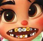 Cuidar dos dentes da Vanellope