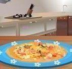 Fazer grão de bico com bacalhau