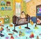 Limpar o quarto do bebê