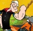 Popeye aventuras na moto