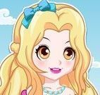 Vestidos da pequena princesa