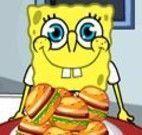 Bob Esponja concurso do hamburguer