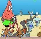Bicicleta de madeira do Patrick