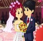 Bolo de casamento dos noivos