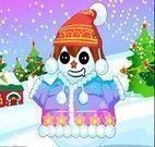 Boneco de neve do natal