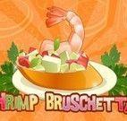 Bruschetta de camarão