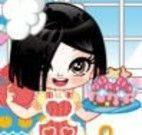 Vestir a pequena cozinheira