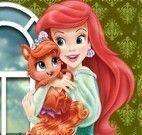 Ariel cuidar do bichinho de estimação
