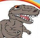 Colorir desenho do dinossauro