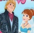 Decorar cartão de casamento do filme Frozen