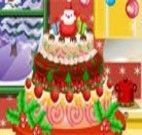Decorar bolo de natal