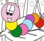 Colorir minhoca
