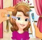 Princesa Sofia cuidar dos olhos