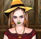 Maquiar bruxa de halloween