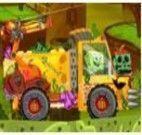 Caminhão do Bob Esponja no Halloween