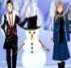 Casamento de Princesa na Neve