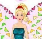 Fazer bolo da Barbie fada