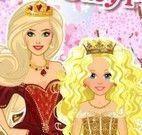 Maquiar e vestir rainha e princesa