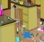 Limpar o laboratório