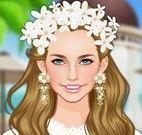 Maquiagem da noiva e vestidos