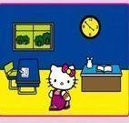 Colorindo Hello Kitty