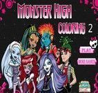 Colorir desenho monster high