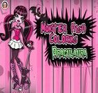 Colorir Monster High Draculaura