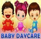 Cuidar de Bebês na creche