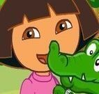 Cuidar do crocodilo da Dora