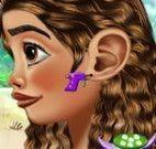 Princesa Moana piercing