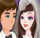 Maquiar e vestir a noiva