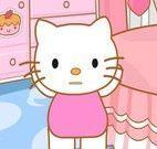 Arrumar Hello Kitty para escola