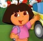Vestir Dora passear de carro