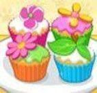 Fazer e decorar cupcakes de flores