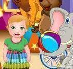 Arrumar bebê para circo