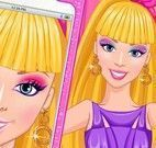 Barbie maquiagem para selfie