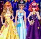 Baile de máscara princesas