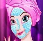 Anna Frozen limpeza de pele Ano novo