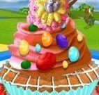 Decoração dos cupcakes