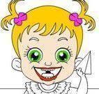 Pintar bebê Hazel