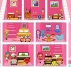 Bebê Barbie decorar casa