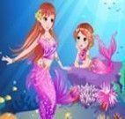 Vestir mãe e filha sereias