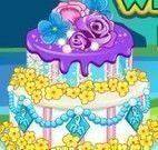 Anna noiva decorar bolo de casamento