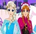 Princesas do filme Frozen moda