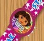 Decoração do relógio da Dora