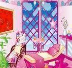 Decorar a sala da casa cor de rosa